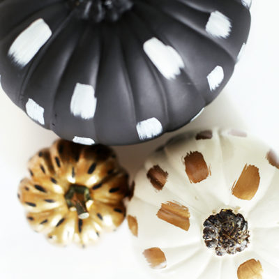 Brushstroke Pumpkin | The Merry Thought | Craft Collector