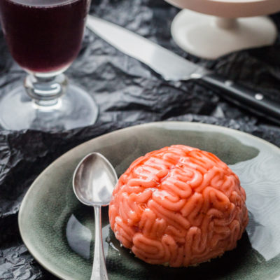 Zombie Brain Mousse | Cuisine Addict | Craft Collector