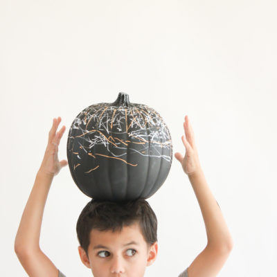 Chalkboard Pumpkin | Delia Creates | Craft Collector