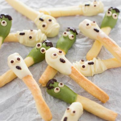 Halloween Pocky | Chopstick Chronicles | Craft Collector