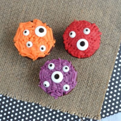 Monster Cupcakes | Freebie Finding Mom | Craft Collector