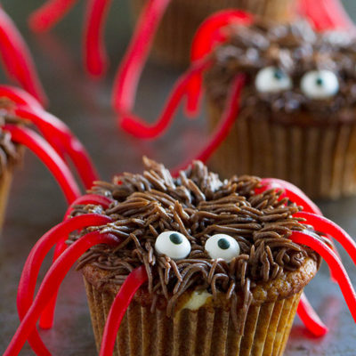 Harry Spider Cupcakes | Taste and Tell | Craft Collector