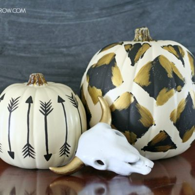 Tribal Inspired Pumpkin | The Crafted Sparrow | Craft Collector