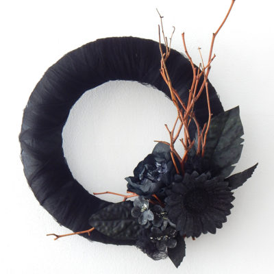 Black Chick Wreath | Decor Asylum | Craft Collector