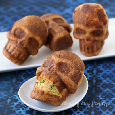 Chicken Broccoli Stuffed Skulls | Hungry Happenings | Craft Collector