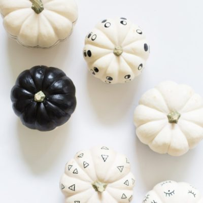 Paint Pen Pumpkins | Lovely Indeed | Craft Collector