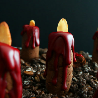 Bleeding Candle Shortbread | Kitchen @ Hodgkins | Craft Collector