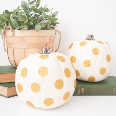 Glitter Dot Pumpkin | The Beauty Dojo | Craft Collector