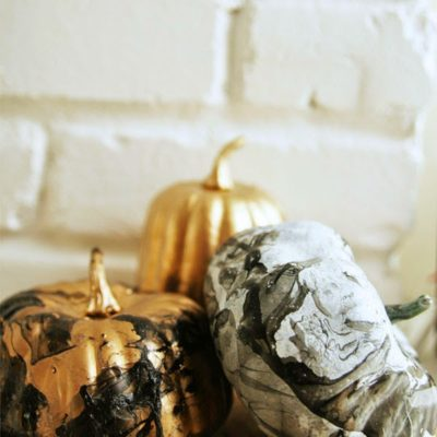 Marbled Pumpkins | Homemade Ginger | Craft Collector