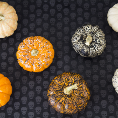 Nail Polish Pumpkins | A Week from Thursday | Craft Collector