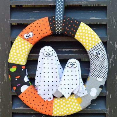 Boo Wreath | Crafts N Coffee | Craft Collector
