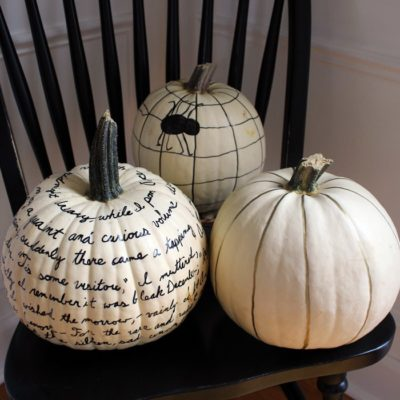 Sharpie Pumpkin | Boxy Colonial | Craft Collector
