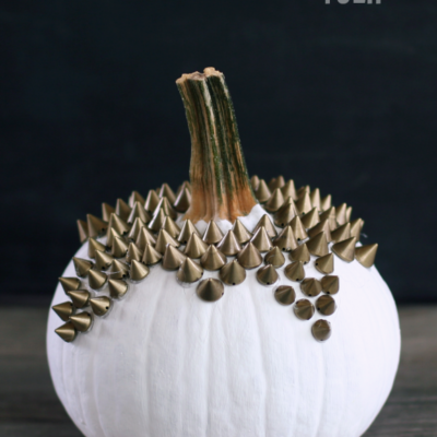 Studded Pumpkin | The Happy Tulip | Craft Collector