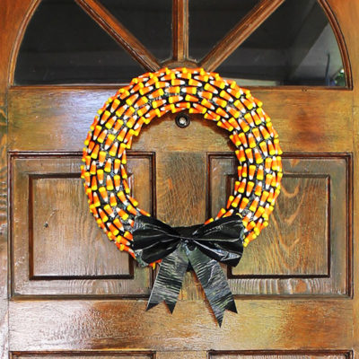 Candy Corn Wreath | Well Made Heart | Craft Collector