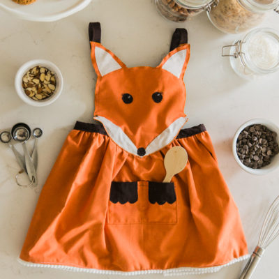 Adorable Fox Apron | Simple as That | Craft Collector