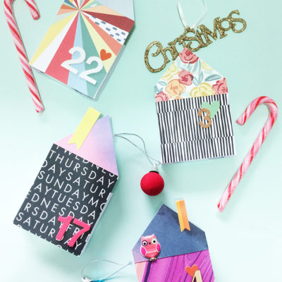 Paper Houses Advent Calendar | Live it. Love it. Make it. | Craft Collector