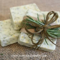 Rosemary Soap | The Everyday Home | Craft Collector