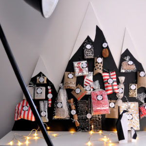 Advent Calendar Mountains | Mama is Dreaming | Craft Collector