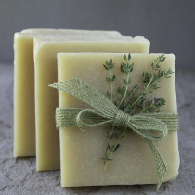 Thyme and Witch Hazel Facial Bar | Soap Queen | Craft Collector