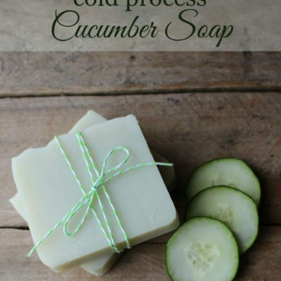 Cucumber Soap | The Nerdy Farm Wife | Craft Collector