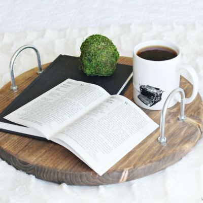 Wooden Circular Tray | Katelyn Chantel | Craft Collector