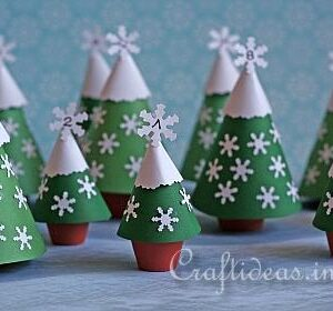 Tiny Trees Calendar | Craftideas | Craft Collector