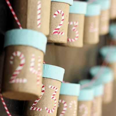 Trinket Box Garland Advent Calendar | Crafts Unleashed | Craft Collector