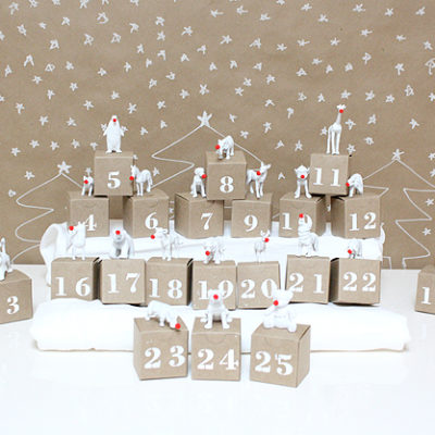 Animal Box Advent Calendar | A Bubbly Life | Craft Collector