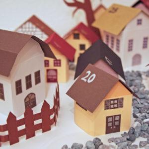 Paper House Advent Calendar | Deschdanja | Craft Collector