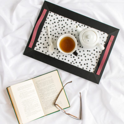 Stamped Tray | Historias De Casas | Craft Collector