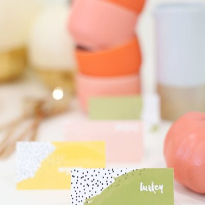 Printable Thanksgiving Dish Labels | Lovely Indeed | Craft Collector