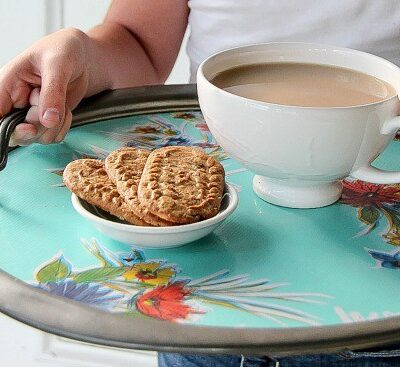 Circular Tray | The Centsible Life | Craft Collector