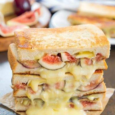 Fig and Brie Grilled Cheese | Kirbie's Cravings | Craft Collector