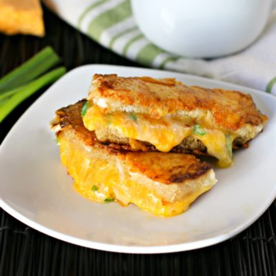 Parmesan Crusted Grilled Cheese Sticks | Culinary Envy | Craft Collector