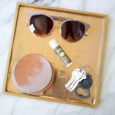 Gilded Gold Tray | Twinspiration | Craft Collector