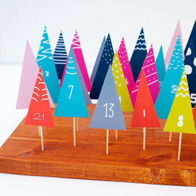 Paper Forrest Advent Calendar | Hello Happy Studio | Craft Collector