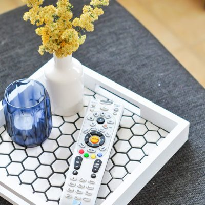 Honeycomb Tiled Tray | The Proper Blog | Craft Collector