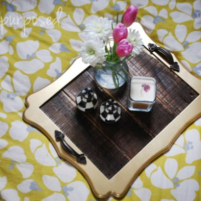 Pallet Tray | BrePurposed | Craft Collector