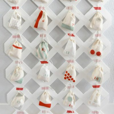 Lattice Advent Calendar | The Proper Blog | Craft Collector