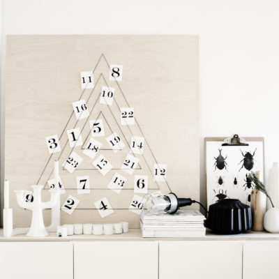 Modern Geometric Calendar | Weekday Carnival | Craft Collector